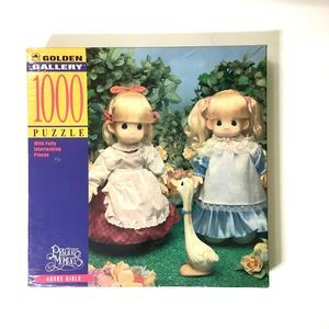 PRECIOUS MOMENTS Vintage Goose Girls Puzzle